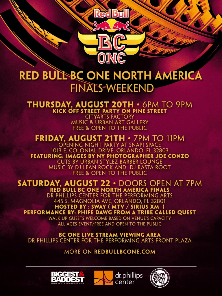 BC One North America Weekend Flyer